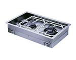 Dickinson Marine 00-2BP Two Burner Propane Drop In Cooker - Canada - Canadian Dollars