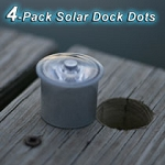Lake Lite 4-Pack Solar Dock Dots Dock Lights LL-SDD-DOT-X - Canada - Canadian Dollars