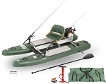 Sea Eagle SUPCat10 Watersnake Inflatable Fishing Stand-Up Paddleboard