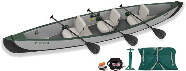 Sea Eagle Inflatable Travel Canoe