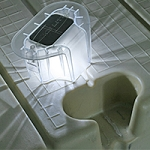 The Solar Dock Light for EZ Dock from Lake Lite - 2 Pack Dock Lights LL-SDL-EZ-V2 - Canada - Canadian Dollars