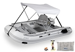 SEA EAGLE 10.6SR SWIVEL SEAT & CANOPY PACKAGE SPORT RUNABOUT WITH DROPSTITCH FLOOR
