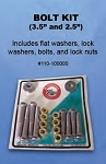 Bob's Machine Shop Jack Plate Bolt Kit 110-100000 - Canada - Canadian Dollars