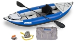 Sea Eagle Explorer 300 Pro Carbon Inflatable Kayak 300XK_PC *** On Back order will ship after  Oct 10th ***