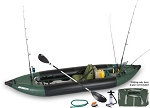 Sea Eagle the 350fx Deluxe Solo Fishing Explorer Inflatable Fishing Boat