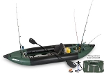 Sea Eagle the 350fx Pro Solo Fishing Explorer Inflatable Fishing Boat