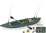 Sea Eagle 385fta FastTrack Deluxe Solo Angler Series Fishing Inflatable Kayak 385FTAK_DS  - Pay In Canadian Dollars