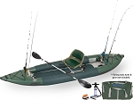 Sea Eagle 385fta FastTrack Swivel Seat Fishing Rig Angler Series Fishing Inflatable Kayak **** On back order will ship after Sept 15th