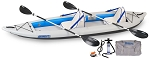 Sea Eagle 385ft Fasttrack Deluxe Kayak 2 Person Package  *** On back order will ship after Sept 15th