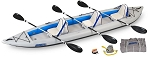 Sea Eagle 465ft Fasttrack Deluxe 3 Person Kayak Package  - Canada - Canadian Dollars *** On back order until Sept 15th