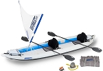 Sea Eagle 465ft Fasttrack Quiksail Kayak Package - Canada - Canadian Dollars *** On Back order will ship after  Oct 10th ***
