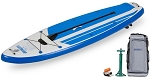 Sea Eagle HB96 the Hybrid Stand Up StartUp Version Paddleboard for stand up, sit down and surfing - Pay In Canadian Dollars