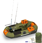 Sea Eagle PackFish7™ Deluxe Fishing Package