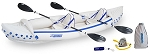 Sea Eagle SE 370 Pro Package Inflatable Kayak Boat N Bag SE370K_P