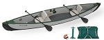 Sea Eagle Inflatable Travel Canoe TC16 2 Person Start Up Package TC16K_ST - Pay In Canadian Dollars