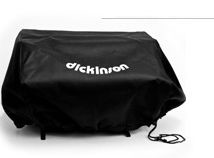 Dickinson Marine Black Vinyl BBQ Covers