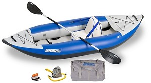 Sea Eagle Explorer 300 Deluxe Inflatable Kayak 300XK_D