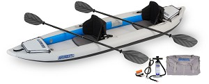 Sea Eagle 385ft Fasttrack Pro Kayak Package