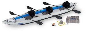 Sea Eagle 465ft Fasttrack Pro Carbon Kayak Package - Canada - Canadian Dollars