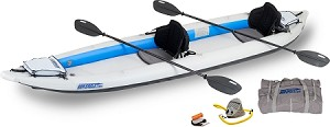 Sea Eagle 465ft Fasttrack Pro 2 Person Kayak Package - Canada - Canadian Dollars