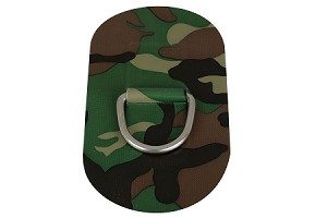 "Sea Eagle D-Ring (Large, Camo, 2 1/4"" Ring)"