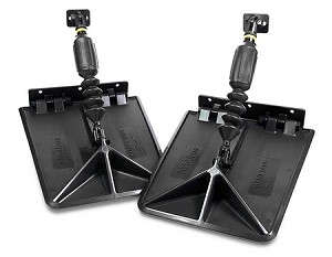 Nauticus SMART TABS SX9510 Series Automatic Boat Trim Tabs No Wiring Required 20 HP to 225 HP Boats to 24'