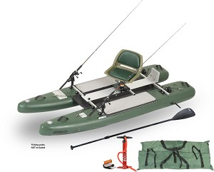 Sea Eagle SUPCat10 DELUXE Inflatable Fishing Stand-Up Paddleboard